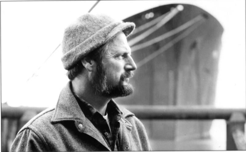Fisherman poet Geno Leech