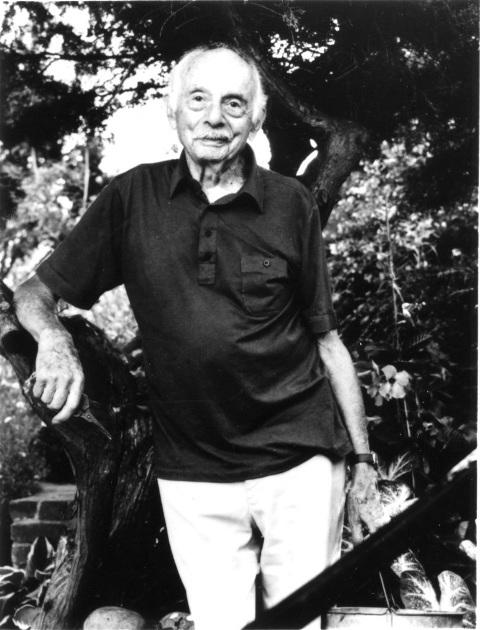 Poet Laureate Stanley Kunitz